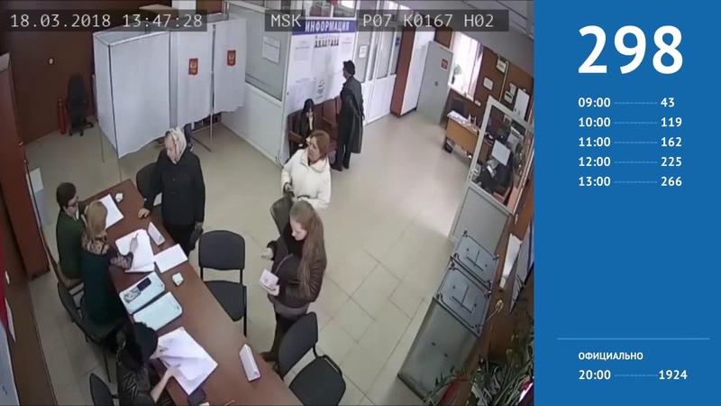 На выборах президента явку накрутили в 5 раз на участке в Нальчике