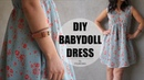 DIY How to Sew a Babydoll Dress Outfits