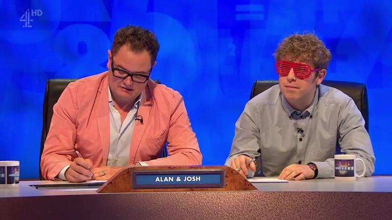 8 Out of 10 Cats Does Countdown 14x03 - Alan Carr, Sara Pascoe, Josh Widdicombe, Joe Wilkinson, Bill Bailey
