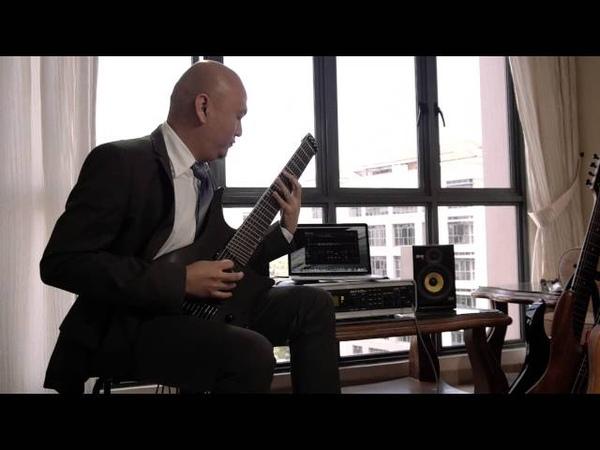 .Strandberg* Boden 8 - Seymour Duncan Blackouts - Axe FX II - Metal Test