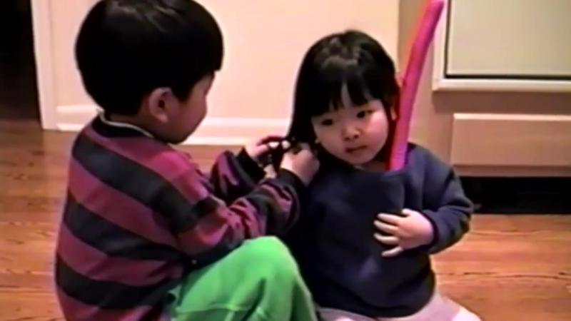 NATIONAL SIBLINGS DAY.1997 (Maia and Alex Shibutani)