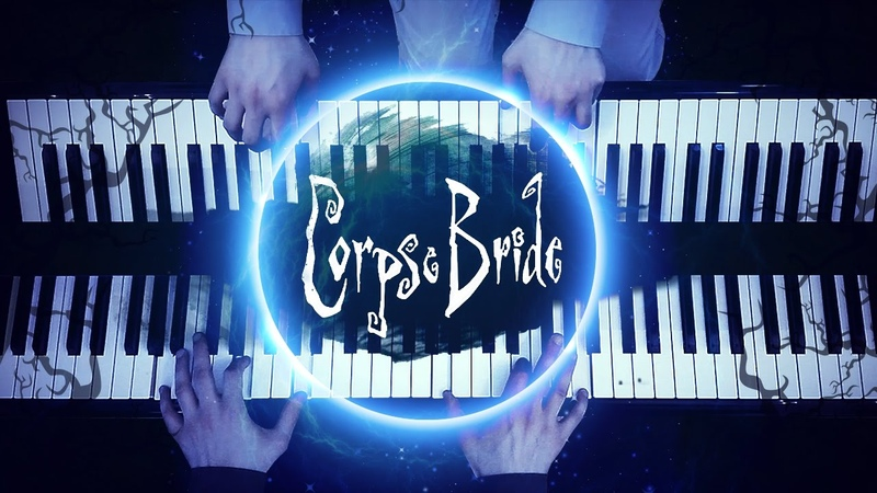 The Piano Duet - Tim Burton's Corpse Bride (Extended Version) [HD Piano Cover, Halloween Music]