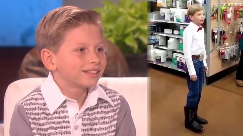 Yodel Boy Says Hes Performed at Walmart 50,000 Times Gets MAJOR Surprise On Ellen