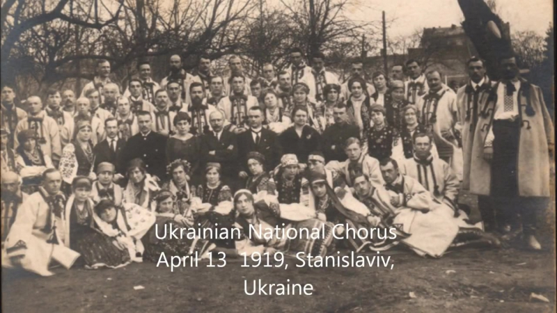 Перший запис Щедрика, 1922 рік