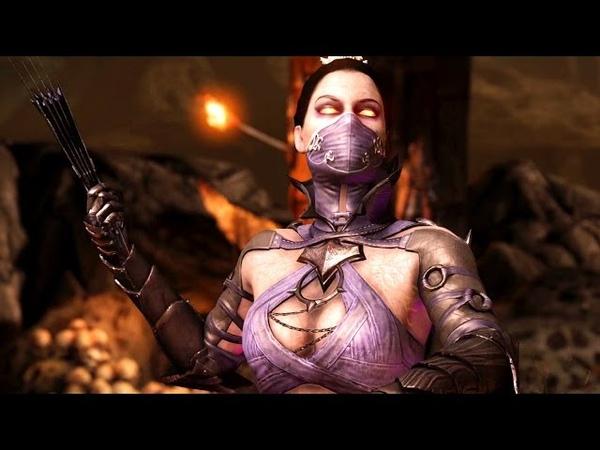 Mortal Kombat X Kitana Revenant Costume Ladder Walkthrough and Ending