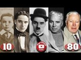 Charlie Chaplin Transformation From 10 To 88 Years Old