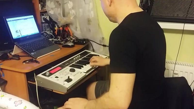 ReznikSAR Интро Районы-Кварталы (Rock Organ) Korg MicroX