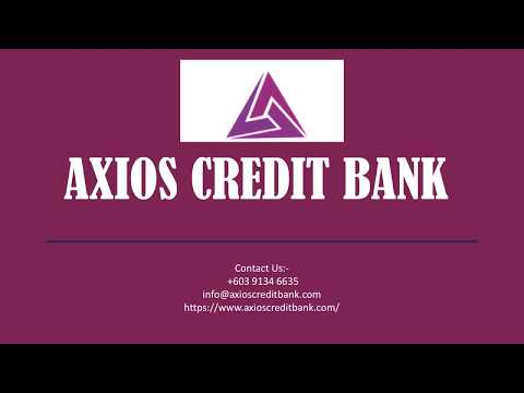 Axios Credit Bank'S Financial Services | Online Banking