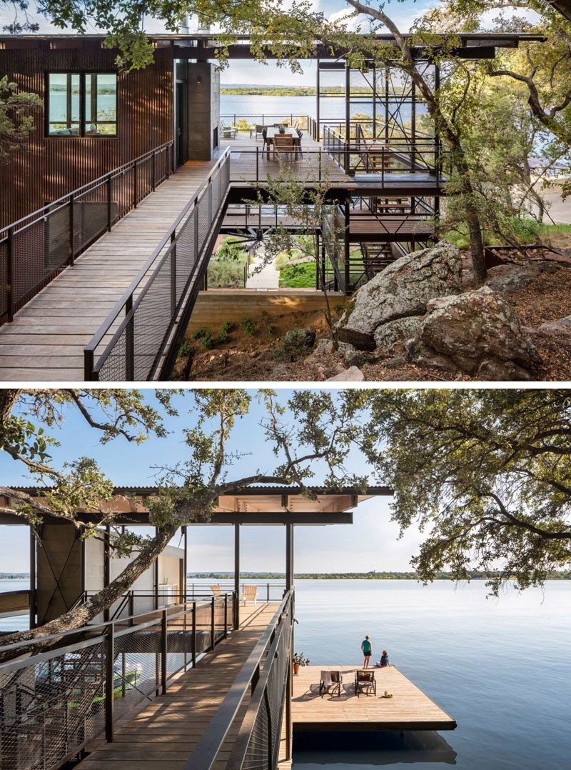 The home by Lake|Flato Architects