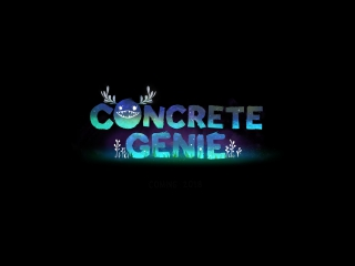 Concrete genie (pgw 2017 announce trailer)