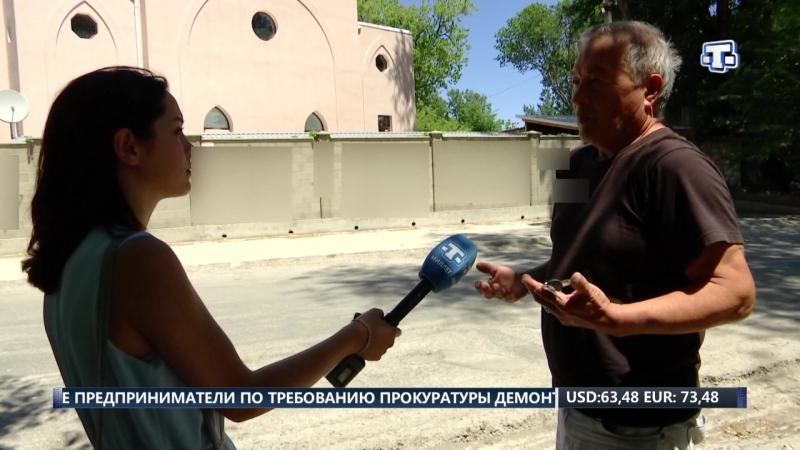Вандалы осквернили центральную мечеть в Белогорске