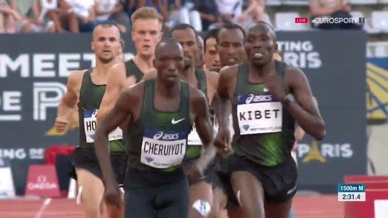 Men 1500m Diamond League Paris 2018 English Commentary