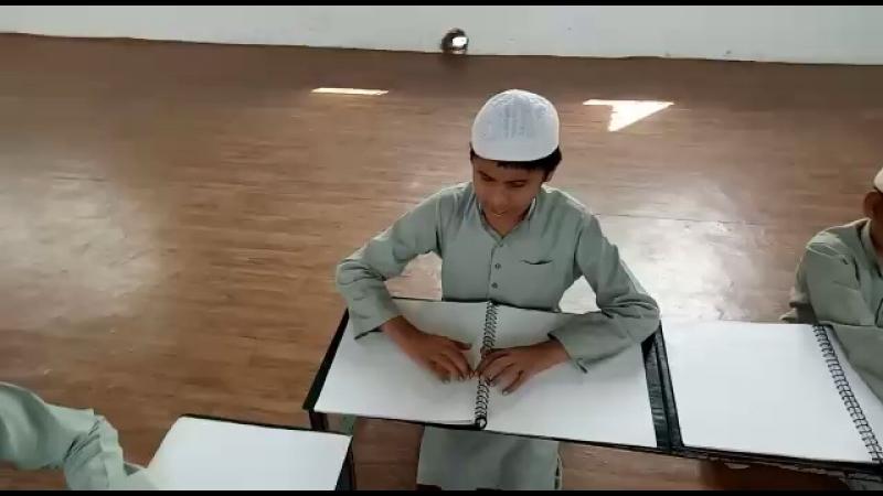 Аллаху акбар . Медресе для слепых Хафизов Курана. Аллах да осветит их Нуром и сделает наместниками Курана на этой земле