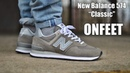 New Balance 574 Grey Reflective ML574EGG Onfeet Review sneakers.by