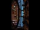 ТУ-154, летим в Сочи, муж за штурвалом.