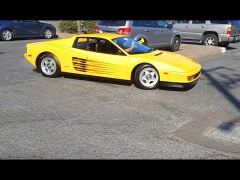 Перегон Ferrari Testarossa 1986 в США