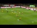 Чемпионат Германии 2017 18 18 й тур Боруссия Д Вольфсбург 2 тайм 720 HD