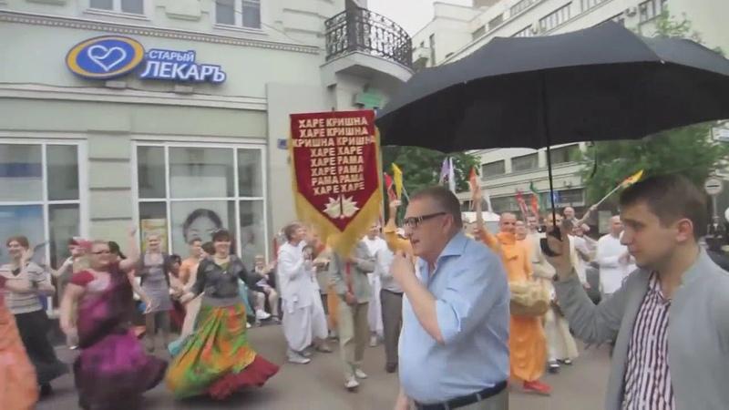 Жириновский - наш кандидат! Вегетарианец. Жертвует кришнаитам.