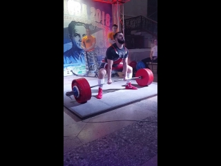 Эмиль Мамедов Становая тяга 240 кг.