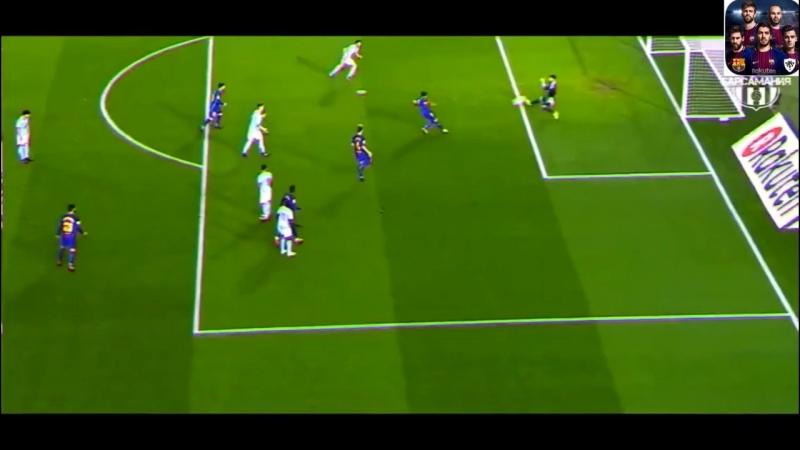 PES2018 Mobile - Suarez лучший центральный нападающий в PES