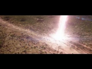 Мстители: Война бесконечности.Тор,Ракета и Грут прибывают на поле битвы