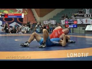 Муса Евлоев - Никита Мельников - победа Евлоева на туше ЧР 2018