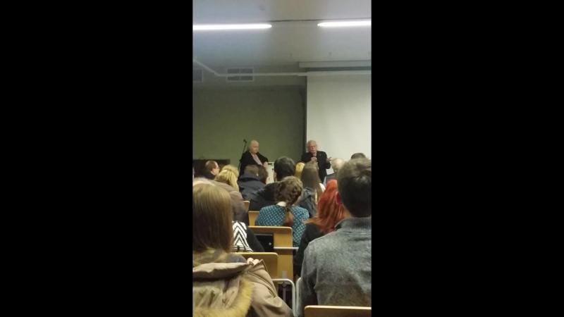 Джакомо Риццолатти Ответы на вопросы из зала