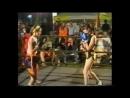 Chrissie vs Julia boxing old VHS
