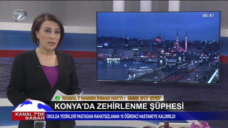Kanal 7de Sabah - 13 Ocak 2018