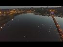 Донецк.1 июня,2017.Небесные фонарики выпущены в память о погибших детях Донбасса