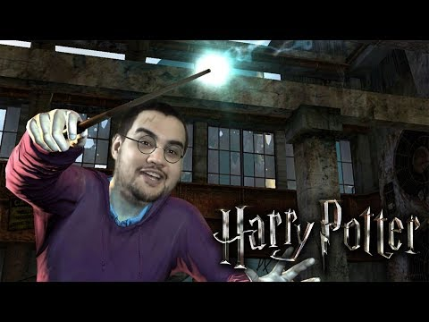 [18] Шон играет Harry Potter and the Deathly Hallows (PS3, 2011)