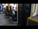 Поездка на трамвае Tatra RT6 MF 06 AC