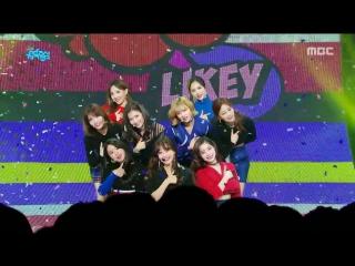 171125 TWICE - LIKEY @ Music Core