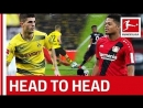 Pulisic vs. Bailey − A Rocket-Fuelled Duel − Head to Head