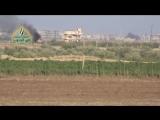 Боевики Южного фронта уничтожили Танк Т-72 на фронте западного Дараа