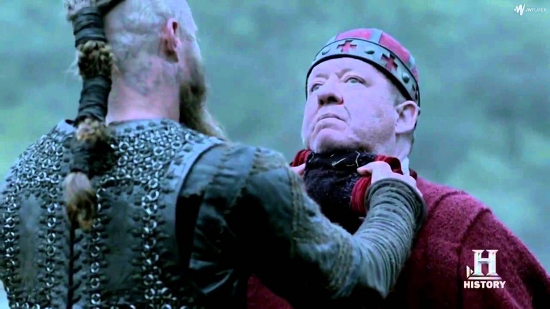 Bishop Edmund Is Sent As Envoy To Deal With The Vikings - THE VIKINGS SEASON 2