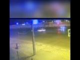 В Новороссийске разбили тачку об столб