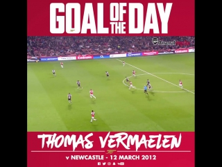 Goal of the Day: Thomas Vermaelen