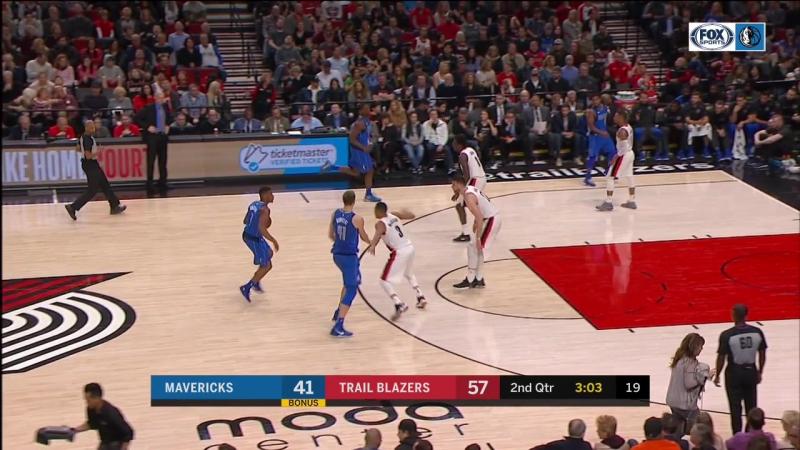 NBA 2017-2018 / RS / 20.01.2018 / Dallas Mavericks vs Portland Trail Blazers