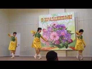 Выступление Государственного калмыцкого ансамбля песни и танца «Тюльпан».