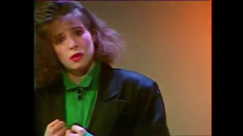 Mylene Farmer - Милен Фармер - Maman A Tort - On Est Tous Des Imbeciles - France 3 Normandie - 03.04.1985