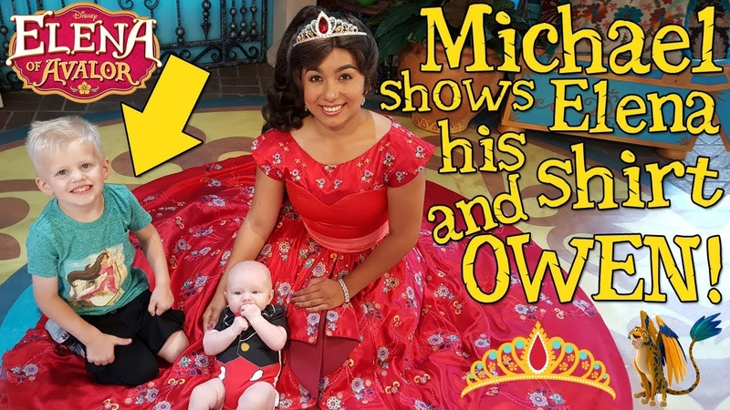 Michael's Hide Seek Game with Elena of Avalor!