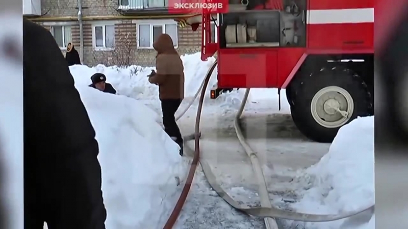 Мужик с Урала бросился в огонь ради спасения собаки и кота