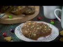 Шоколадная колбаса с мармеладными мишками и MMS