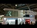 Компания Гефест Проекция произвела установку комплекса проекционная витрина на стенд компании Unipump!