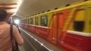 Метропоезд 81 717 Синергия 1 на станции Лермонтовский проспект