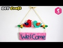 Birds Showpiece Hanging from waste Cardboard By Sonali Creations