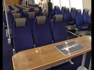"""Запуск скоростного пассажирского судна на подводных крыльях """"Комета 120М"""""""