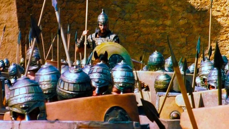 Гектор против Аякса,Троянец-Грек,Наследник Трои против Царя Саламины / Троя(2004)Момент из Фильма