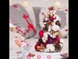Простые рождественские поделки из бумаги!